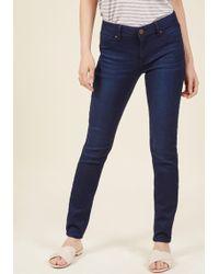 ModCloth - Wear You Belong Skinny Jeans - Lyst
