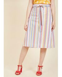 Sugarhill - Believe To The Imagination Midi Skirt - Lyst