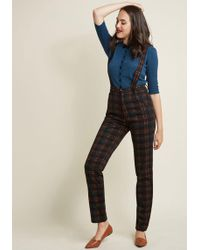 Collectif - Orderly Conduct Trousers - Lyst