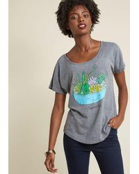 Sharp Shirter - Mind Your Planters Graphic T-shirt - Lyst