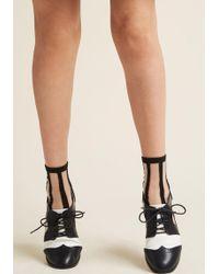 Ana Accessories Inc - Do My Fair Sheer Socks - Lyst