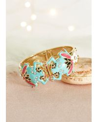 Irregular Choice - Take It From The Hop Bracelet By From Modcloth - Lyst