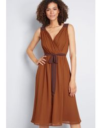 ModCloth - Wholly Romantic Midi Dress - Lyst