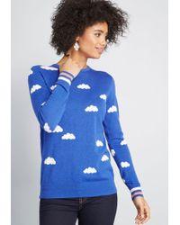 Sugarhill - Smiling Skies Sweater - Lyst