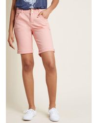 ModCloth - Sierra To Surf Long Shorts - Lyst