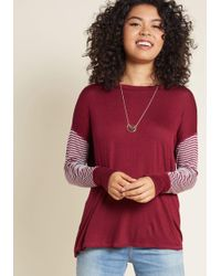ModCloth - Editing For The Afternoon Pullover - Lyst