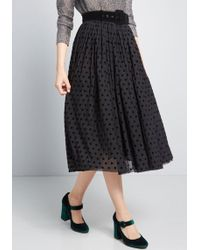 Collectif - X Mc Endless Inspiration Dotted Skirt - Lyst