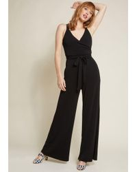 ModCloth - Elegant Everywhere Jumpsuit With Pockets - Lyst