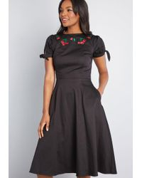 cbfed9fb724 Lyst - Collectif X Mc Mod For Each Other A-line Dress in Blue
