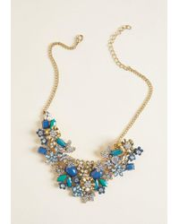 ModCloth - The Flowers That Be Statement Necklace - Lyst