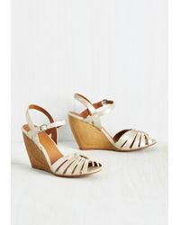 BC Footwear - Piazza Pizzazz Wedge In Prosecco - Lyst