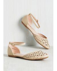 Machi Footwear - Skip It, Skip It Good Flat In Sand - Lyst