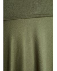 Mai Tai - Up Close And Versatile Skirt In Olive - Lyst