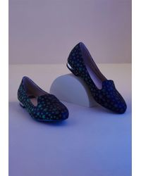 ModCloth - Gleeful Glow-in-the-dark Loafer - Lyst