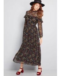 BB Dakota - Sway For Days Floral Maxi Dress - Lyst