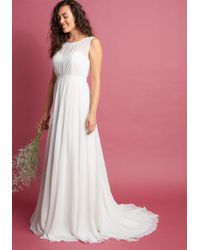 Jenny Yoo - Reverie Moment With You Maxi Dress In Ivory - Lyst