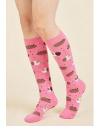 ModCloth   In The Pig Leagues Now Socks   Lyst