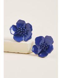 ModCloth - Prettiest Petals Earrings - Lyst