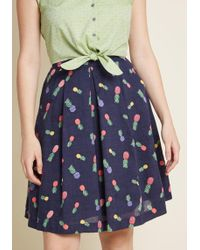 Louche - Upbeat And Empowered A-line Skirt - Lyst