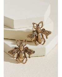 ModCloth - Bee Prepared Earrings - Lyst