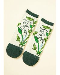 ModCloth   We Can Work It Sprout Socks   Lyst