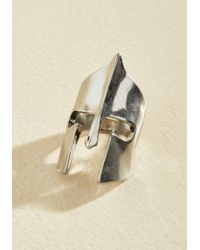 ModCloth - No Conquest Ring In Silver - Lyst