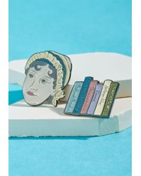 ModCloth | Author Accepted Enamel Pin Set | Lyst