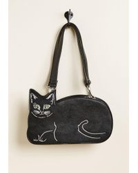 Banned - Cat Stop The Feeling Handbag By From Modcloth - Lyst