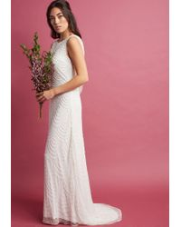 ModCloth - Graceful Grandeur Maxi Dress - Lyst