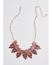 ModCloth - Genuinely Jazzy Statement Necklace - Lyst