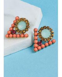 ModCloth - Just Gotta Tri Earrings - Lyst