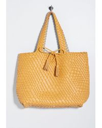 ModCloth - Coveted Texture Tote - Lyst