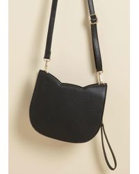 ModCloth | No Hard Felines Bag In Black | Lyst