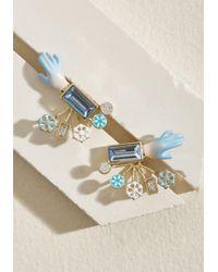 Les Nereides - Les Neridies Flawless Flakes Earrings - Lyst
