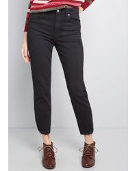 ModCloth - Distress To Impress Relaxed Jeans - Lyst