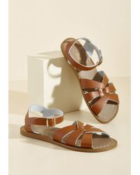 Salt Water - Salt Water Leather Sandal In Tan - Lyst