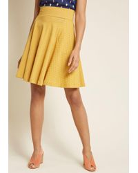 Effie's Heart - Worth A Twirl Pocketed Skirt - Lyst