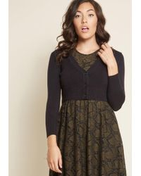 ModCloth - The Dream Of The Crop Cardigan - Lyst
