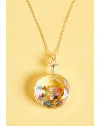 ModCloth - Rocky Beginnings Pendant Necklace - Lyst