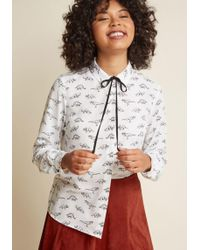 Sugarhill - Dino What You Mean Button-up Top - Lyst