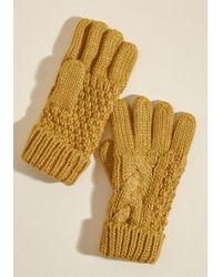ModCloth - Fair Warming Gloves - Lyst