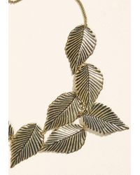 ModCloth | Leafing Town Necklace | Lyst
