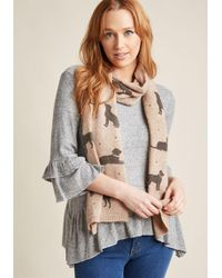 ModCloth - Wag And Boast Scarf - Lyst