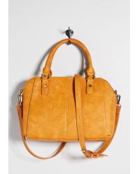 ModCloth - Curated Compartments Satchel By - Lyst