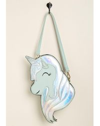 Banned - Mane Attraction Unicorn Crossbody Bag By From Modcloth - Lyst