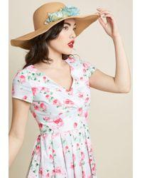ModCloth - Derby Debut Sun Hat - Lyst