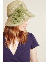 ModCloth - Pure Edith Hat - Lyst