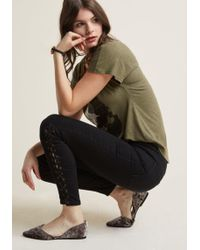 ModCloth - All Tied Up Skinny Jeans - Lyst