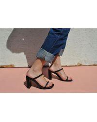 Robert Clergerie - Size 41 Maia Sandal Heel - Lyst