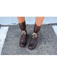Cherevichkiotvichki - Size 37 Country Boot With Goodyear Laces - Lyst